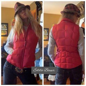 Red Eddie Bauer Winter Vest